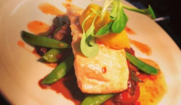 Dining in The Bushtown Hotel Restaurant Coleraine