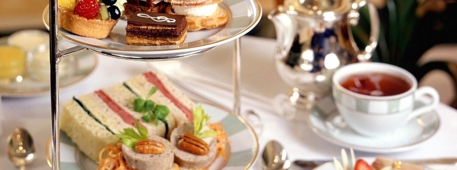 high tea Bush hotel Colereaine